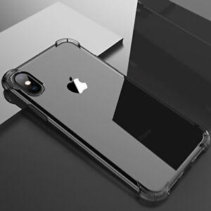 SOFT-TOUCH-TPU-Bumper-Case-Cover-For-Apple-iPhone-X-8-7-6Plus-Women-amp-Men