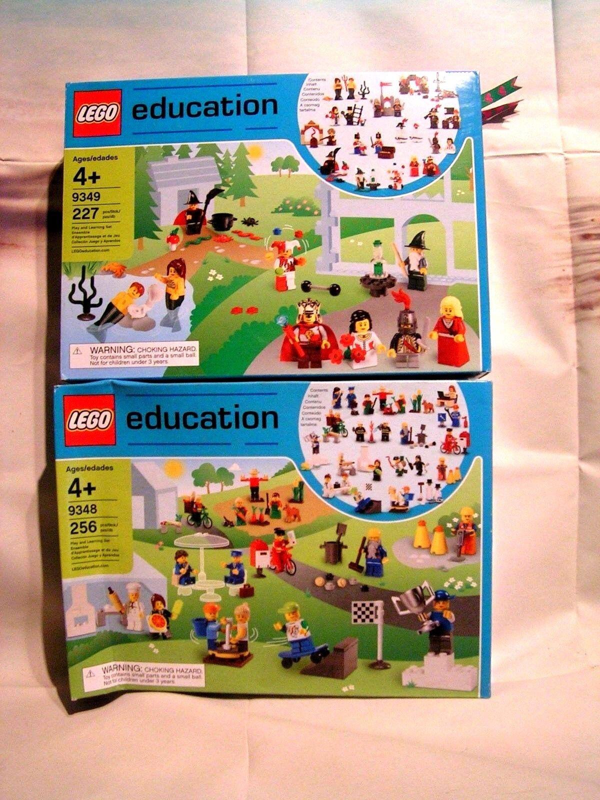 LEGO  EDUCATION RARE -  ENSEMBLE DE PERSONNAGES ET ACCESSOIRES  MAGIE  classico senza tempo