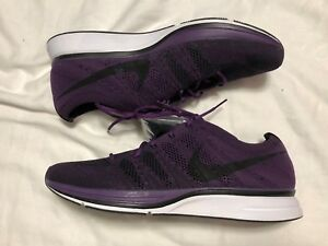 ea9422bb3fe Nike Flyknit Trainer Night Purple SZ 10.5 NO BOX TOP AH8396-500 ...