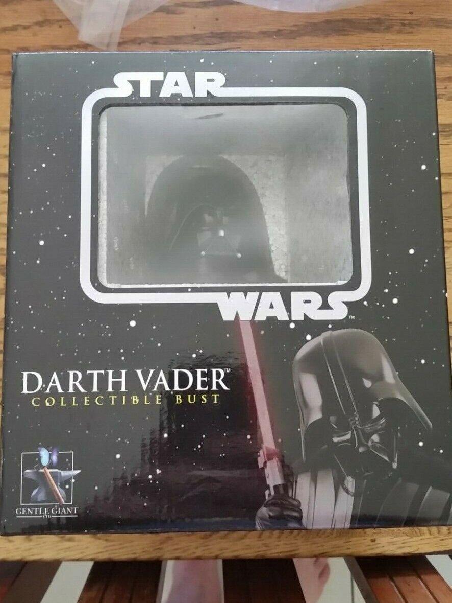 Darth Vader Estrella Wars Gentle Giant Coleccionable Busto  11390