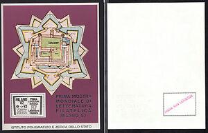 6b8ca09c01 Caricamento dell'immagine in corso FOGLIETTO-ITALIA-IPZS-1982-FIERA -MILANO-RARISSIMO-PROVA-