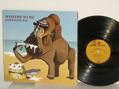 FLEETWOOD MAC Mystery To Me Vinyl LP 1973 Reprise Classic Rock Plays Well VG+
