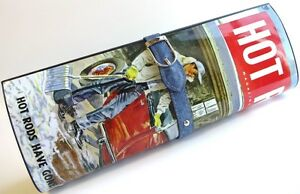 """HOT ROD """"Bagazine"""" Officially Licensed HOT ROD MAGAZINE Ladies Clutch Purse"""