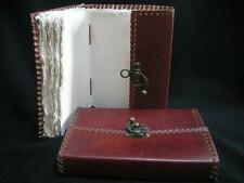 Artist's Sketchbook - Leather Binding - Deckled Paper