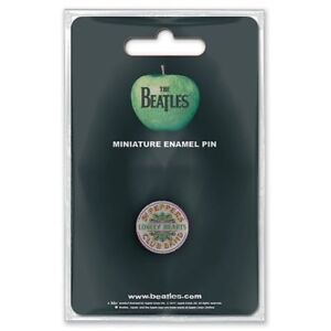 The-Beatles-Sgt-Pepper-Drum-Mini-Pin-Badge-Official-Merchandise-NEU