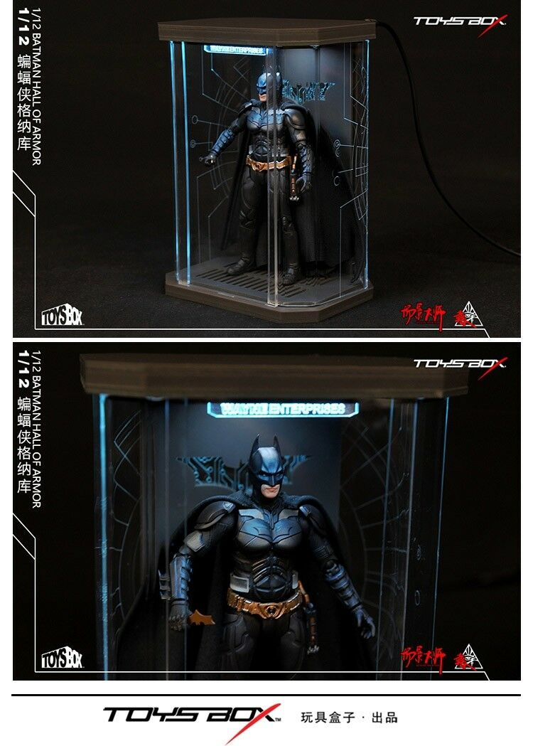 "TB060 Comicave SHF Action Figure Display Case 1//12 Box Dust Proof F//6/"" Figure"