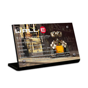 Display-plaque-for-LEGO-Ideas-Wall-E-21303-AUS-Top-Rated-Seller