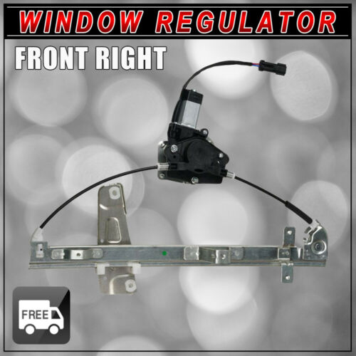 Window Regulator Fit 1999-2000 Grand Cherokee Front Passenger Side Power w//Motor
