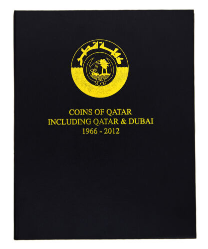 Qatar inc Dubai 1966-2012 Coin Album 1969 1973 1976 1981 1987 1990 1993 1998 etc