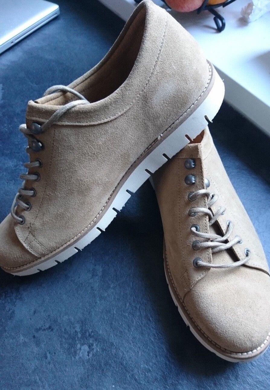 ET AL Design Homme Chaussures en daim Taille UK 10