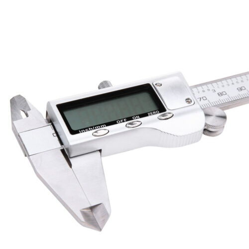 """Stainless Steel Electronic Digital LCD Vernier Caliper Micrometer Guage 6/"""" 150mm"""