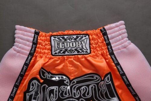 3XL Muay Thai Shorts Boxing Fighting Trunks Kick Boxer Satin Martial Arts S M L