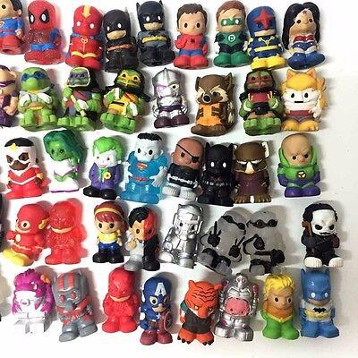 Random Lot 50PCS Ooshies DC Comics Marvel TMNT Pencel Topper Batman Joker Toys