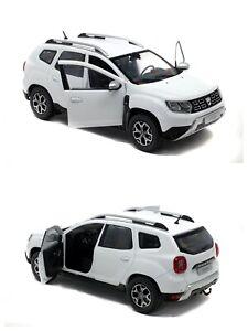 1/18 Solido Dacia Duster MK2 2018 Blanc Neuf boite origine Livraison  Domicile