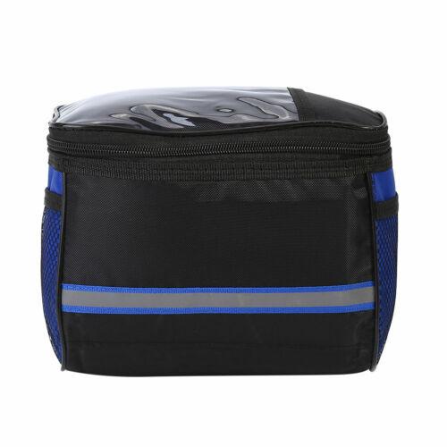 Outdoor Bike Handlebar Bag Bicycle Front Tube Cycling Waterproof Pocket Pack