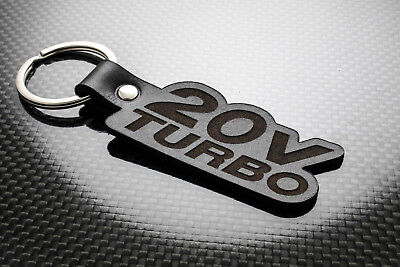 Fiat Coupe 20v Turbo Leather Keyring Keychain Schlüsselring Porte-clés 20 Valve Punctual Timing Vehicle Parts & Accessories Automobilia