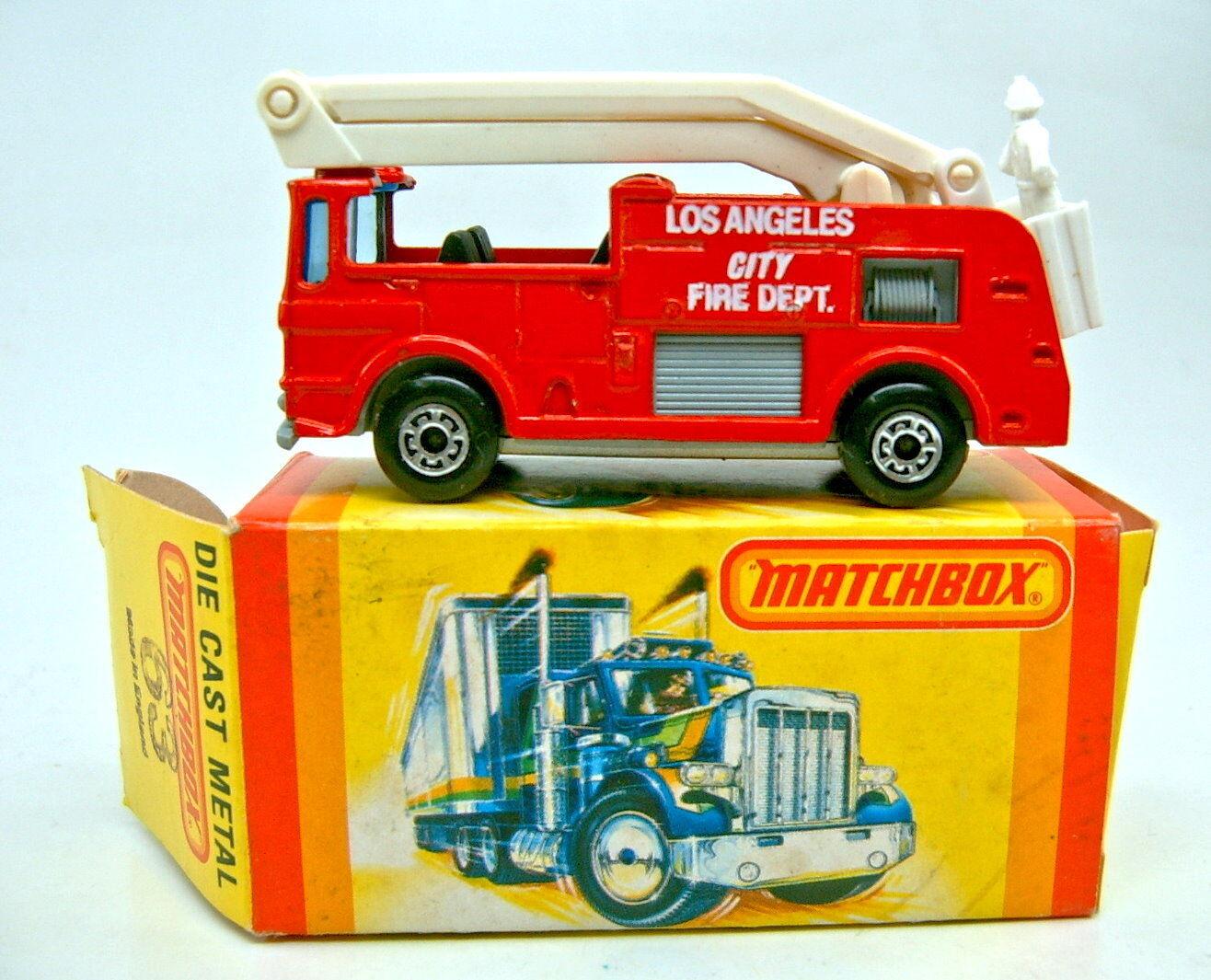 negozio online MATCHscatola SF N. 63e SNORKEL FIRE ENGINE ENGINE ENGINE TOP in USA pappscatola  compra nuovo economico