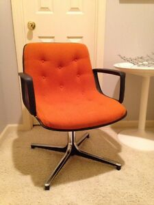 Image is loading Mid Century Modern Office Accent Chair Orange Knoll Mid Century Modern Office Accent Chair Orange Knoll Pollock Era  . Modern Office Accent Chairs. Home Design Ideas