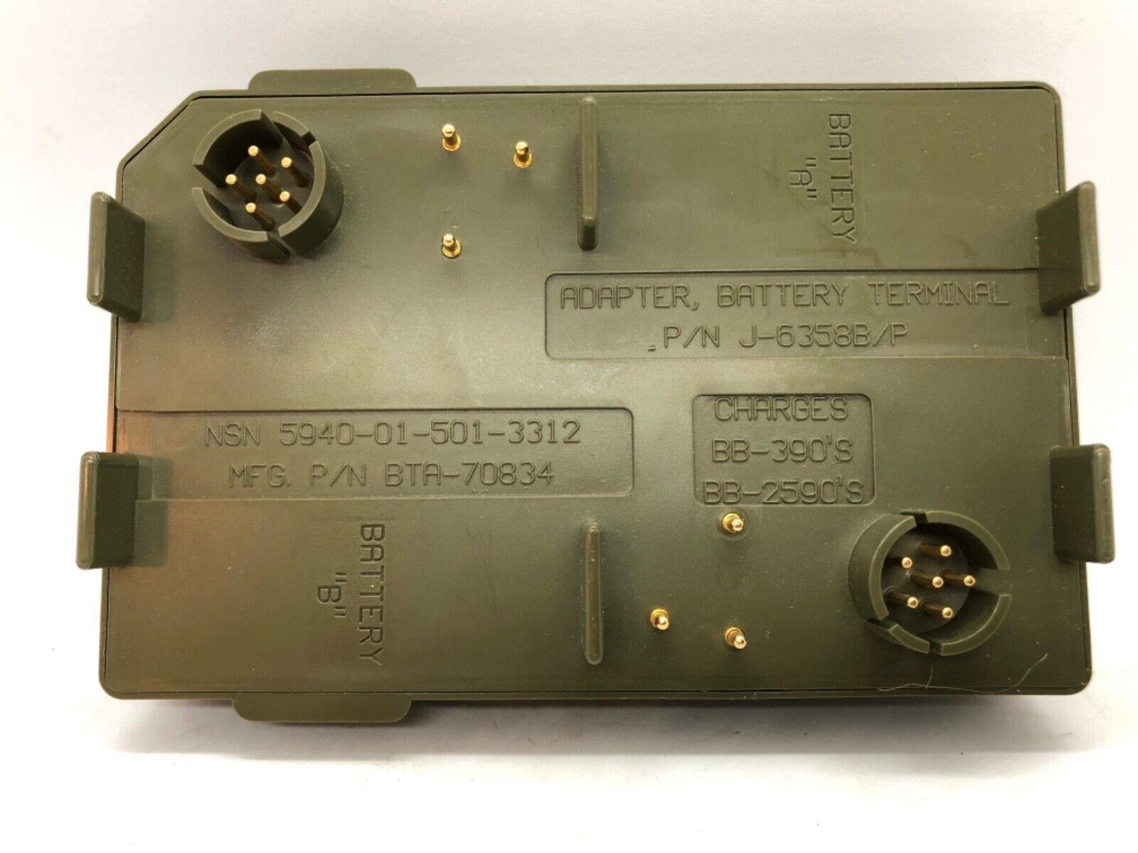 BREN-TRONICS BTA-70834 BATTERY TERMINAL ADAPTER NSN 5940-01-501-3312 For the SPC