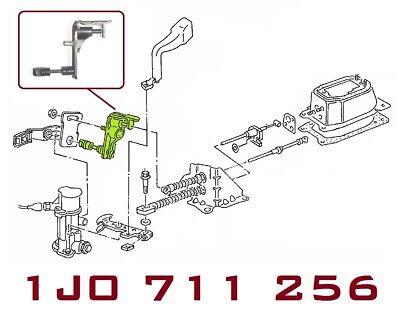 Hebel  VW CADDY II Kasten Umlenkwelle Schaltung siehe Liste unten 9K9A
