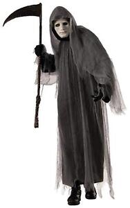 Grey-Ghoul-Grim-Reaper-Gothic-Scary-Robe-Fancy-Dress-Up-Halloween-Adult-Costume