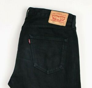 Levi-039-s-Strauss-amp-Co-Hommes-501-Jeans-Jambe-Droite-Taille-W34-L34-ASZ293