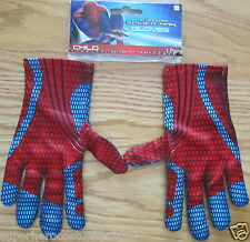 The Ultimate Spider-Man Child Gloves Marvel Comics Brand New PC RED