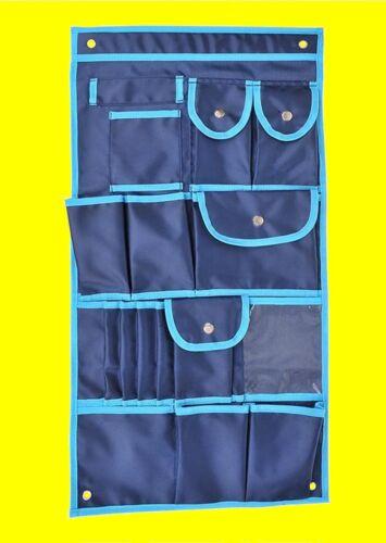 ProPlus 362066 Hängeaufbewahrung 39x74cm Hängetasche 17 Taschen Camping Zelt