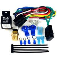 Cutlass Radiator Fans, Dual 14 Fans & Fan Relay Wiring Kit, 3500 Total Cfm's