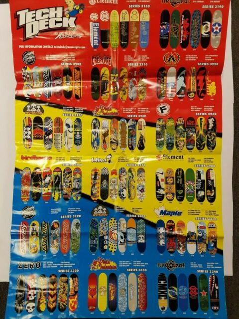 Rare Tech Deck 96mm Flip Skateboards Series 8 Spin Master Toy Fingerboard