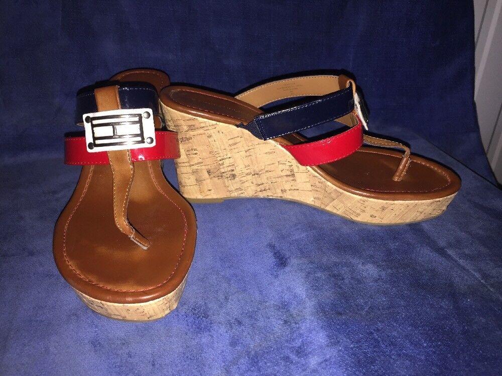 SALE @ TOMMY HILFIGER Mili Sandals Clogs Wedges H… - image 2