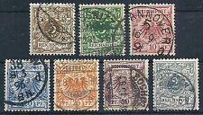 DR 1889 - Freim.: Wz. u. Kr. i.  P.-ov., Radl. i. Kreis - Mi. 45-52 gest.