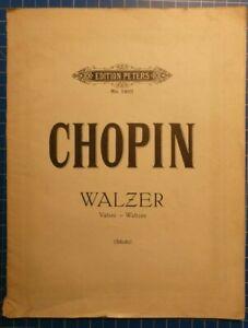 Edition-Peters-No-1901-Chopin-Walzer-Scholtz-Klavier-H8325