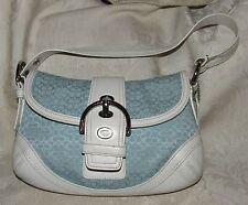 VINTAGE 2007 COACH #F10925 Signature Soho Satchel Buckle Flap Shoulder Bag