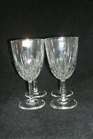 "Cristal d'Arques Durand DIAMANT Clear Set of 4-6 3/8"" Iced Tea Glass Goblets"