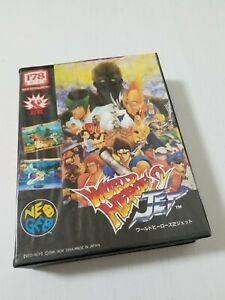 SNK Neo Geo AES World Heroes 2 Jet Japan 0605A7
