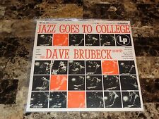 The Dave Brubeck Quartet Sealed Vinyl Record Reissue Jazz Goes To College 1954