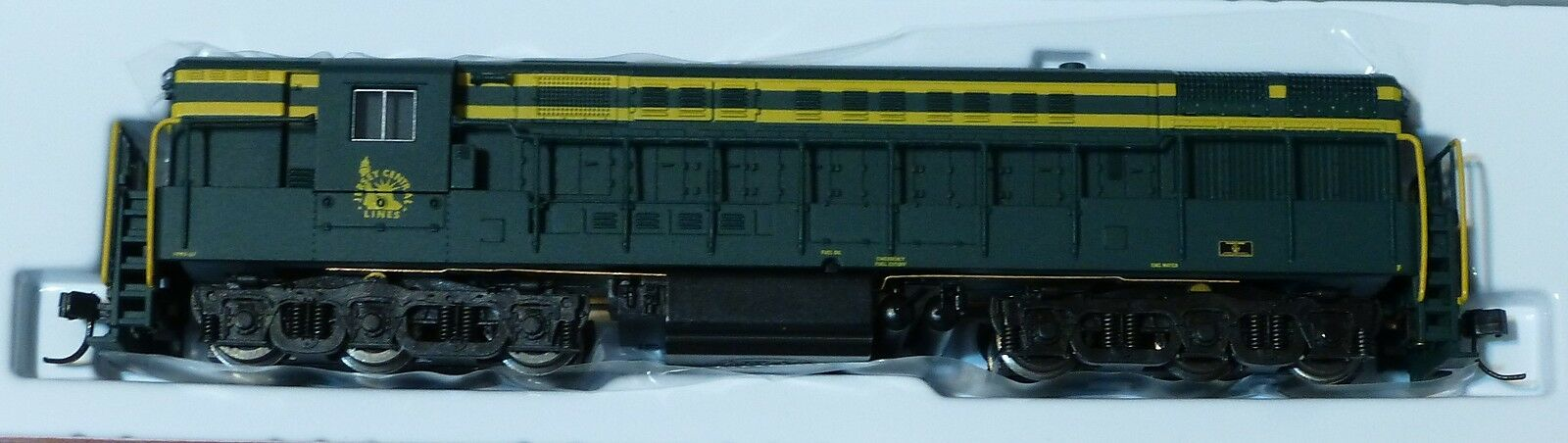 Atlas N Diesel F-M h24-66  trainmaster  fase 1b Powerosso-Jersey Central