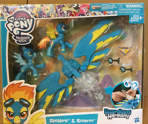 Spitfire and Soarin Figures My Little Pony Guardians of Harmony Character Toys