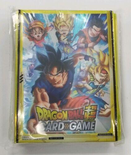 50ct Goku Pan Dragon Ball Super DBS Deck Sleeves PROMO SEALED BANDAI