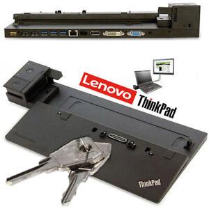 Lenovo-ThinkPad-Dock-Port-Replicator-40A1-04W3948-Type-X240-X250-T450-T460