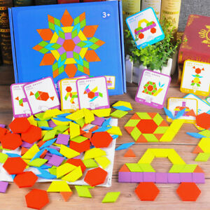 155pcs-Wooden-Jigsaw-Puzzle-Board-Set-Colorful-Baby-Montessori-Educational-Toys