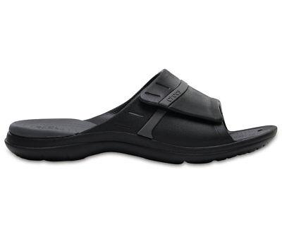8b24aab1f617ea Crocs Modi Sport Slide Men US 10 Black Slides Sandal 2322 for sale online