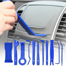 11X Blue Nylon Car Door Trim Panel Dash Audio Stereo GPS Molding Removal Tools
