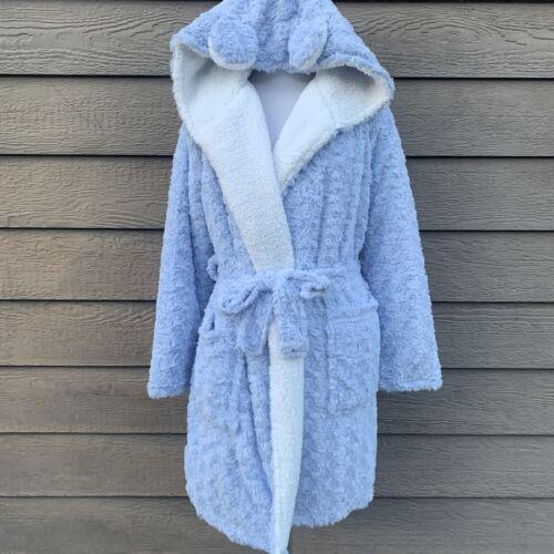 Topshop Blue White Fuzzy Lounge Plush Ears Women's