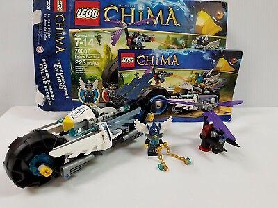 LEGO #70007 LEGEND OF CHIMA EGLOR/'S TWIN BIKE 223 PCS