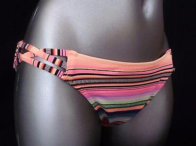 Nwt Victorias Secret Neon Kiwi Rope Strappy The Cheeky Hipkini Bikini Bottom