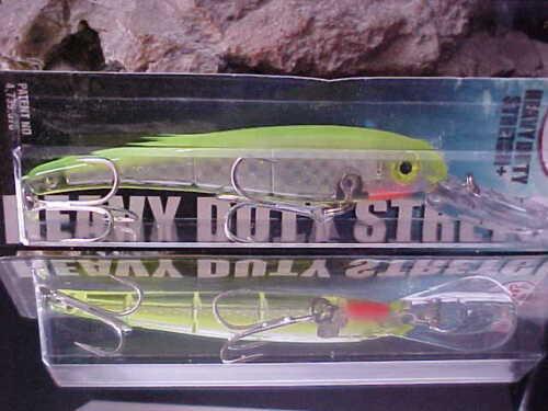 MANN/'S HEAVY DUTY Stretch 12 BigFish Troll leurre SDRB 1297-2 M tableau arrière Mylar