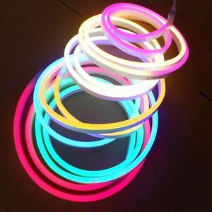 Led neon strip 220v 240v 5050 2835 120ledsm flexible neon rope image is loading led neon strip 220v 240v 5050 2835 120leds aloadofball Choice Image