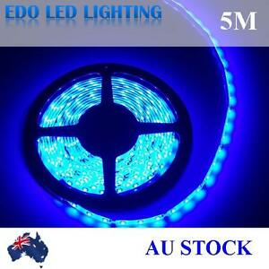 12V-Blue-5M-3528-SMD-300-Leds-LED-Strips-Led-Strip-Lights-Waterproof-Car-Garden